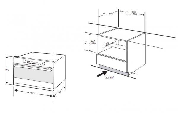 Духовой шкаф Samsung FQ159STR